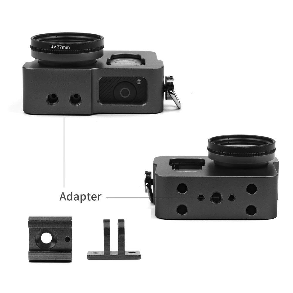 Suporte Armação Moldura Frame - Aluminio - GoPro Hero3 Hero3+ Hero4