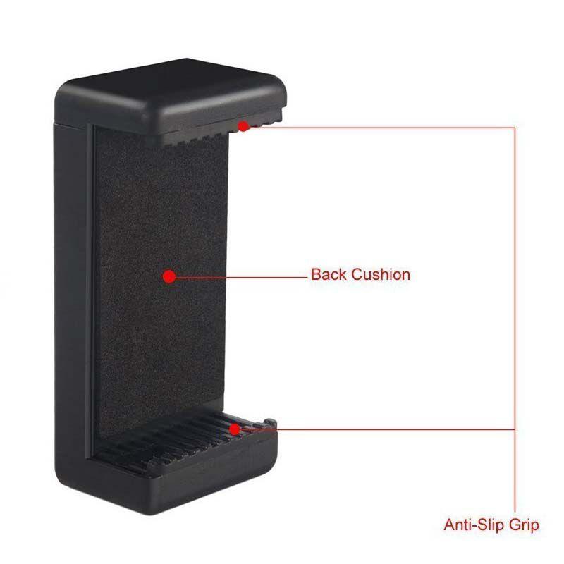 Suporte Celular e Smartphone com Rosca para Tripé e Monopod - 55mm a 85mm