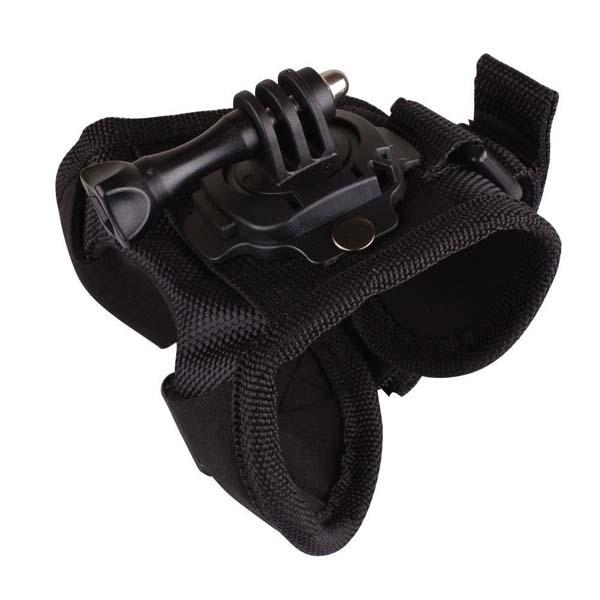 Suporte em Luva Giratório 360 Graus - Pequeno - Wrist - GoPro SJCAM  Yi Eken