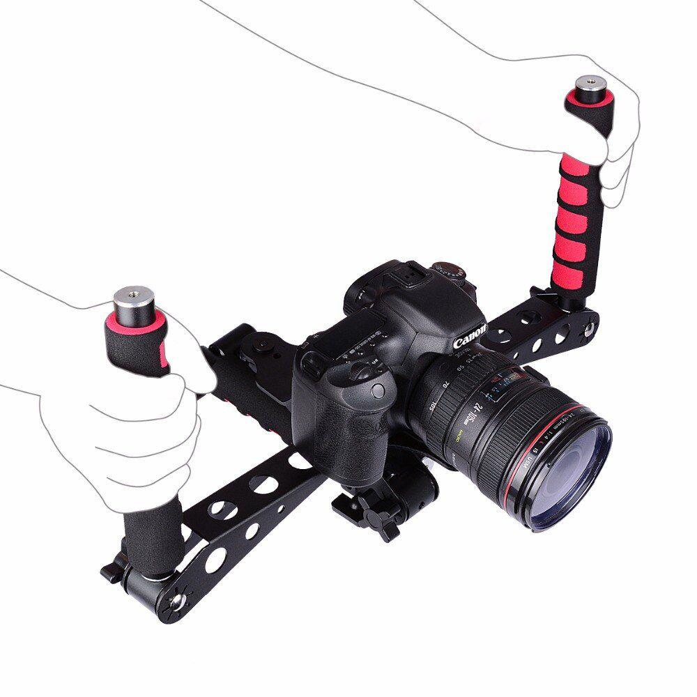 Suporte Estabilizador Ombro - Câmeras DSLR e Filmadoras