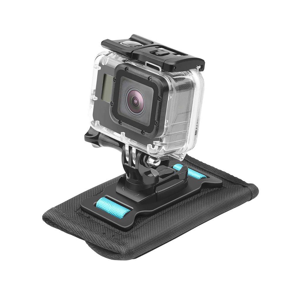 Suporte para Alça de Mochila ou Ombro - 360º Graus - GoPro SJCAM Xiaomi Eken