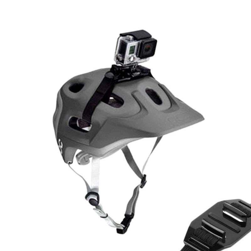 Suporte para Capacete Ventilado Bicicleta Bike - Helmet Strap - GoPro SJCAM Yi Eken