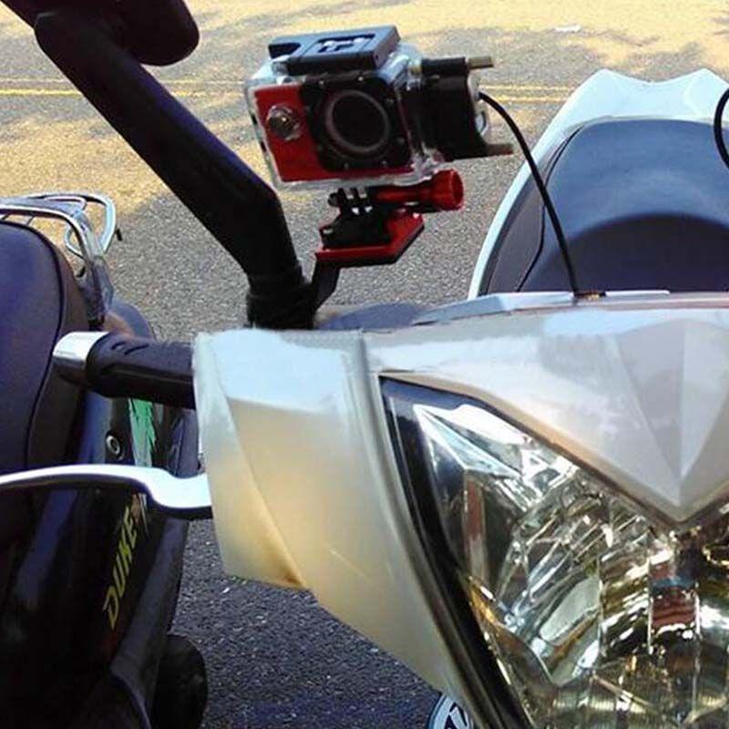 Suporte Retrovisor de Moto - SJCAM