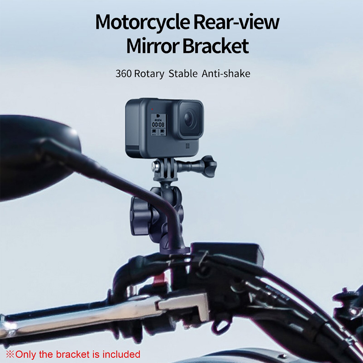 Suporte para Retrovisor de Moto - Telesin