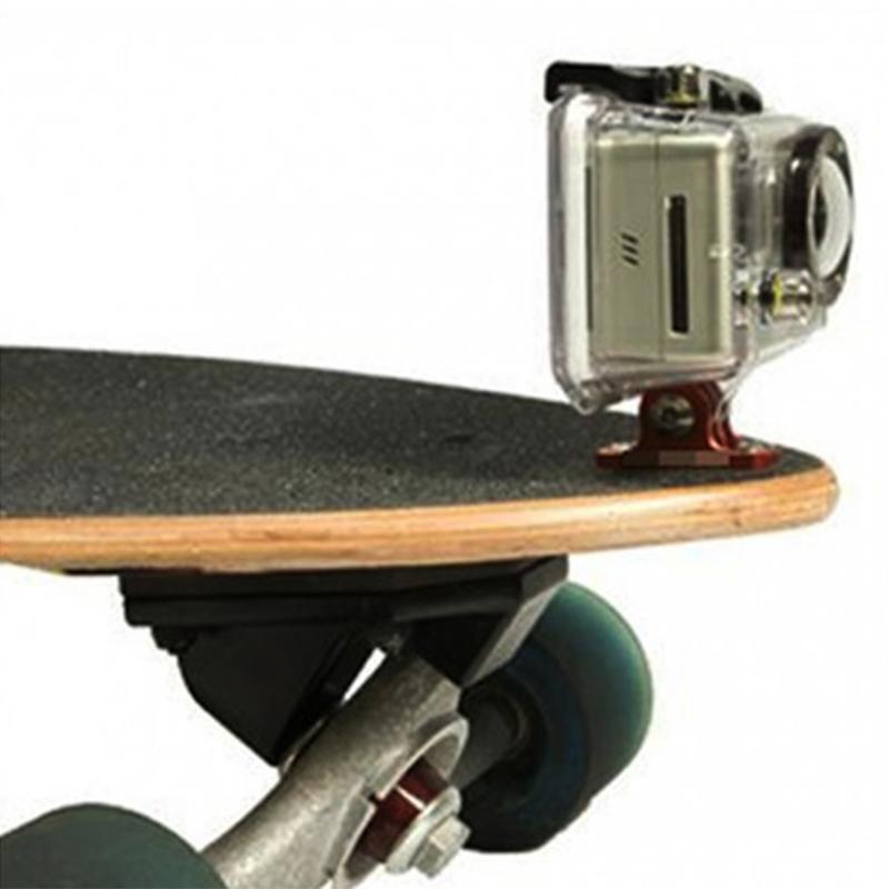 Suporte Skate e Prancha - Alumínio - GoPro SJCAM Eken Yi