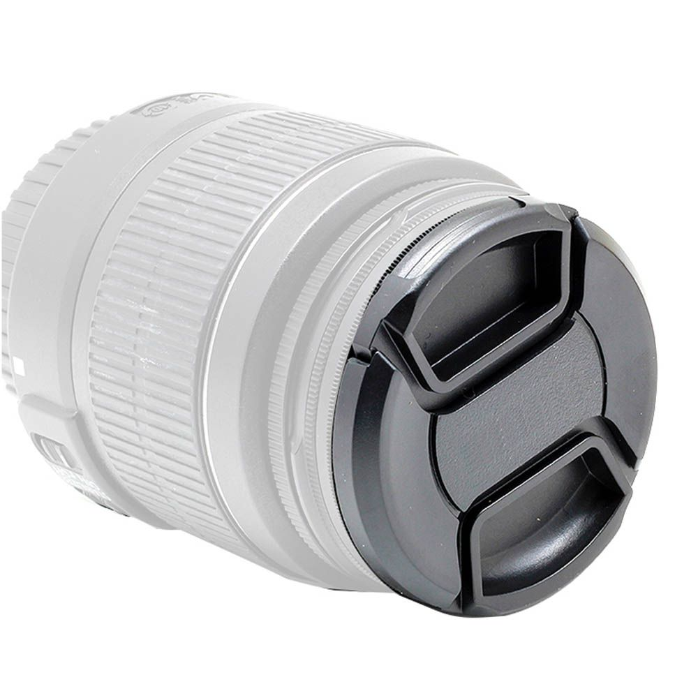 Tampa Lente Frontal Objetiva 55mm Diâmetro - Canon Nikon