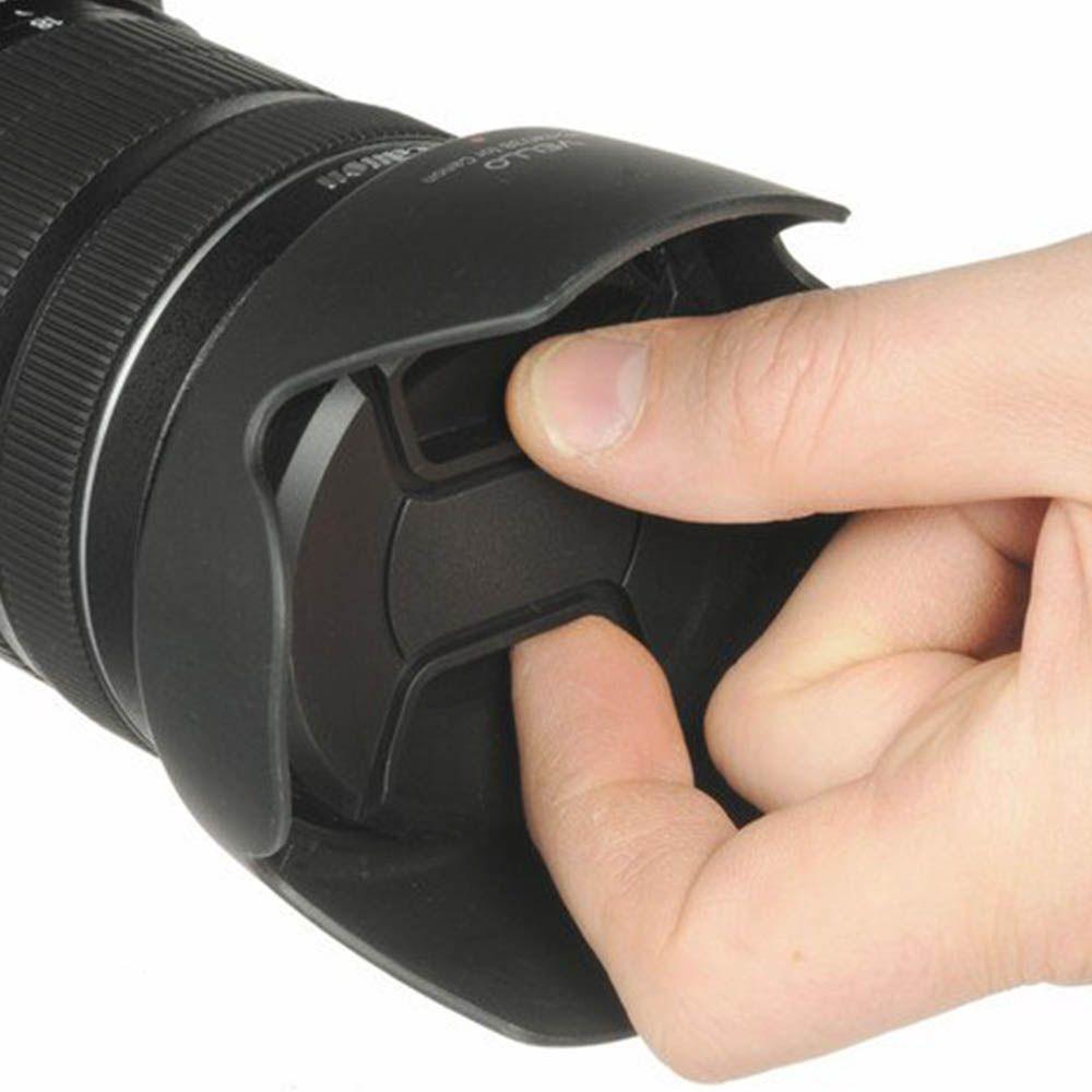 Tampa Lente Frontal Objetiva 55mm Diâmetro