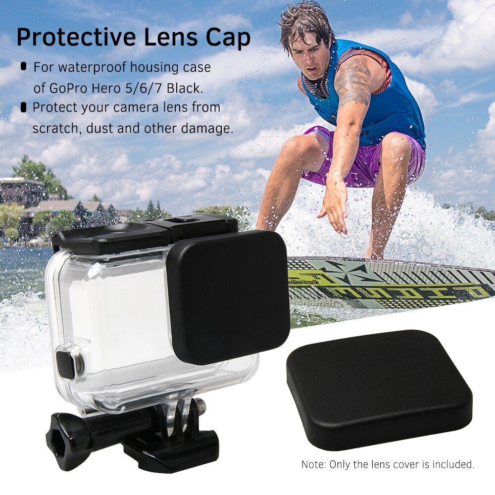 Tampa Protetora - Lente da Caixa Estanque - GoPro Hero5 Hero6 Hero7 - Shoot