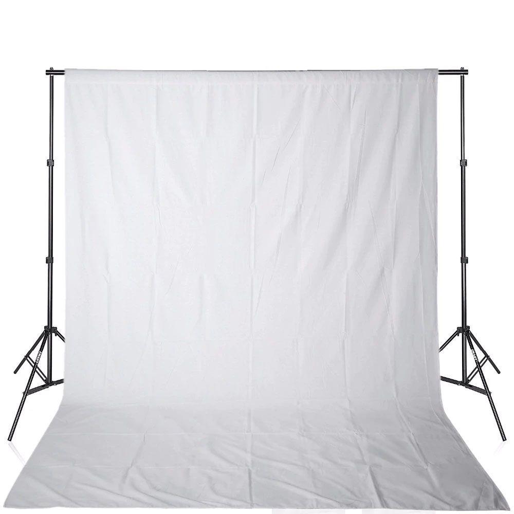 Tecido Fotográfico Fundo Infinito Estúdio - 2,90 x 2,90 - Algodão Muslin
