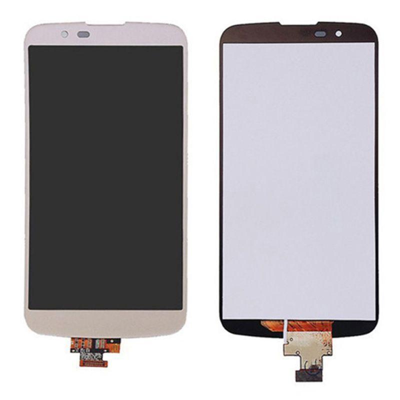 Tela Touch Display LCD Frontal - LG K10 TV - K430 K420N K430DS - Com Aro - Original