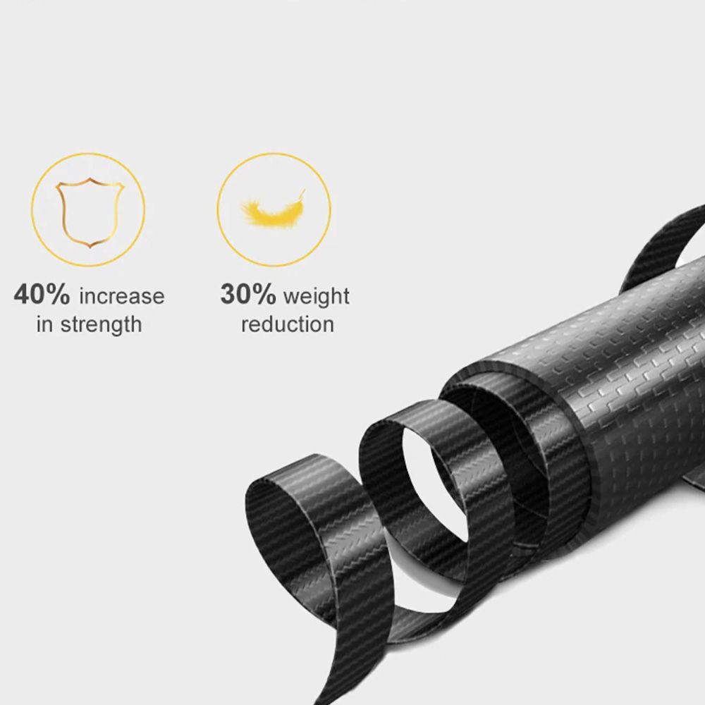Bastão Extensor Tripé - Pau de Selfie - 90 cm - Fibra de Carbono - Telesin