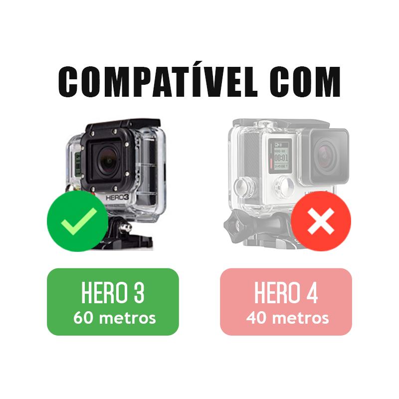 Trava da Caixa Estanque - GoPro Hero3 - Caixa de 60 metros