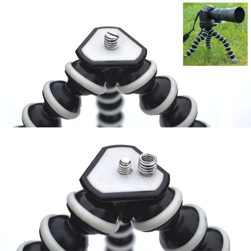 Tripé Flexível Gorillapod 25cm - Octopus - GoPro SJCAM Eken Yi Canon Nikon