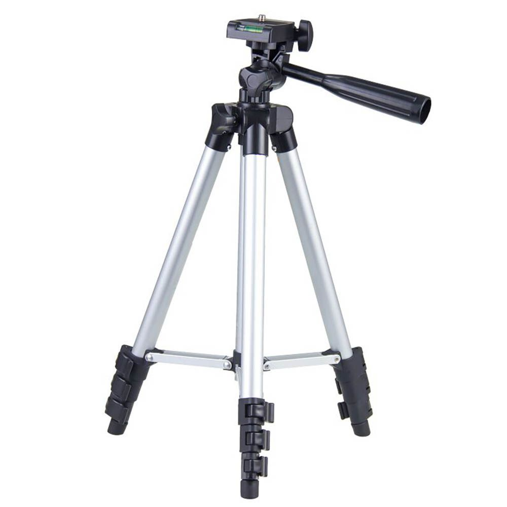 Tripé Universal Telescópico - Câmera Fotográfica e Celular - 110cm