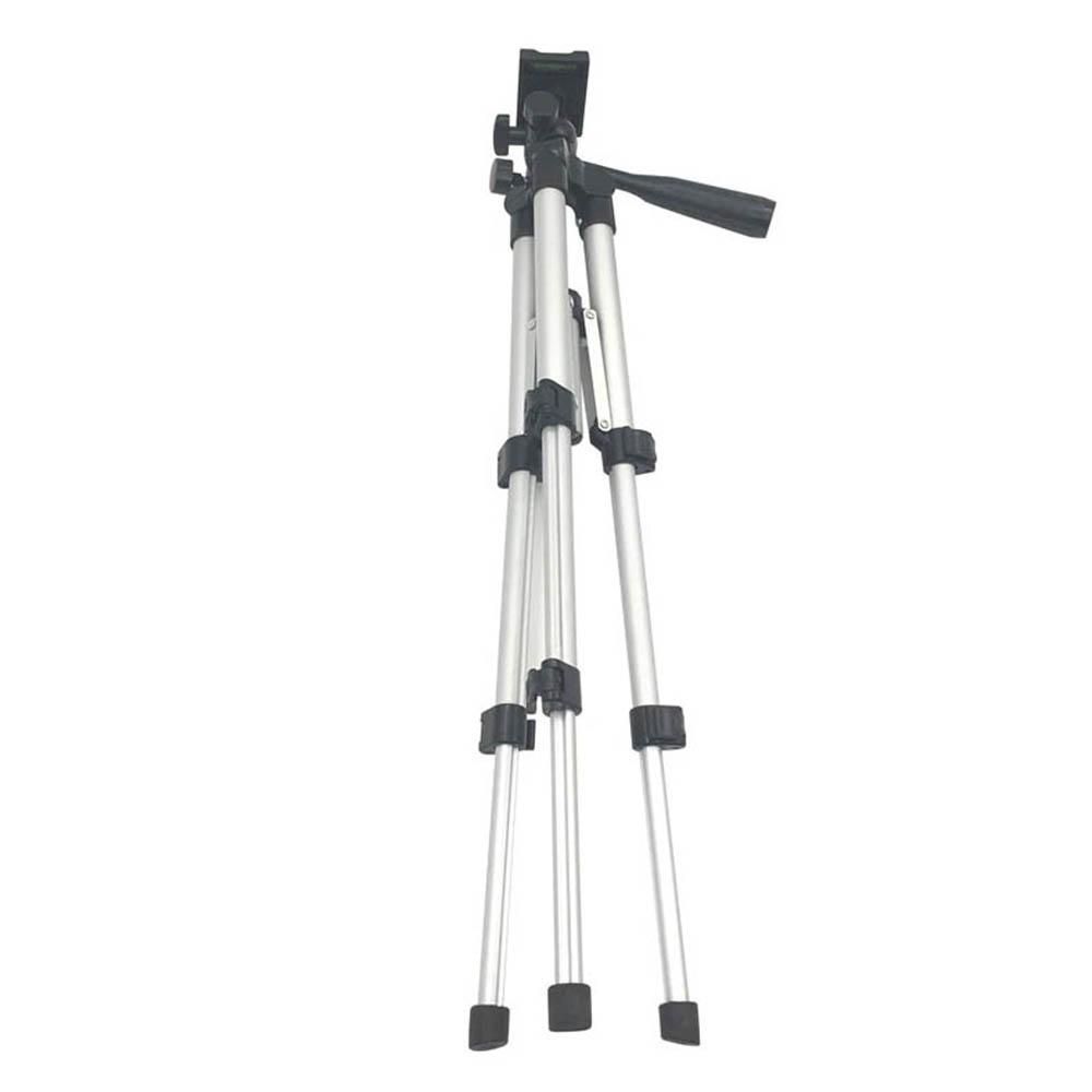 Tripé Universal Telescópico - Câmera Fotográfica e Celular - 130cm - 3 Kilos