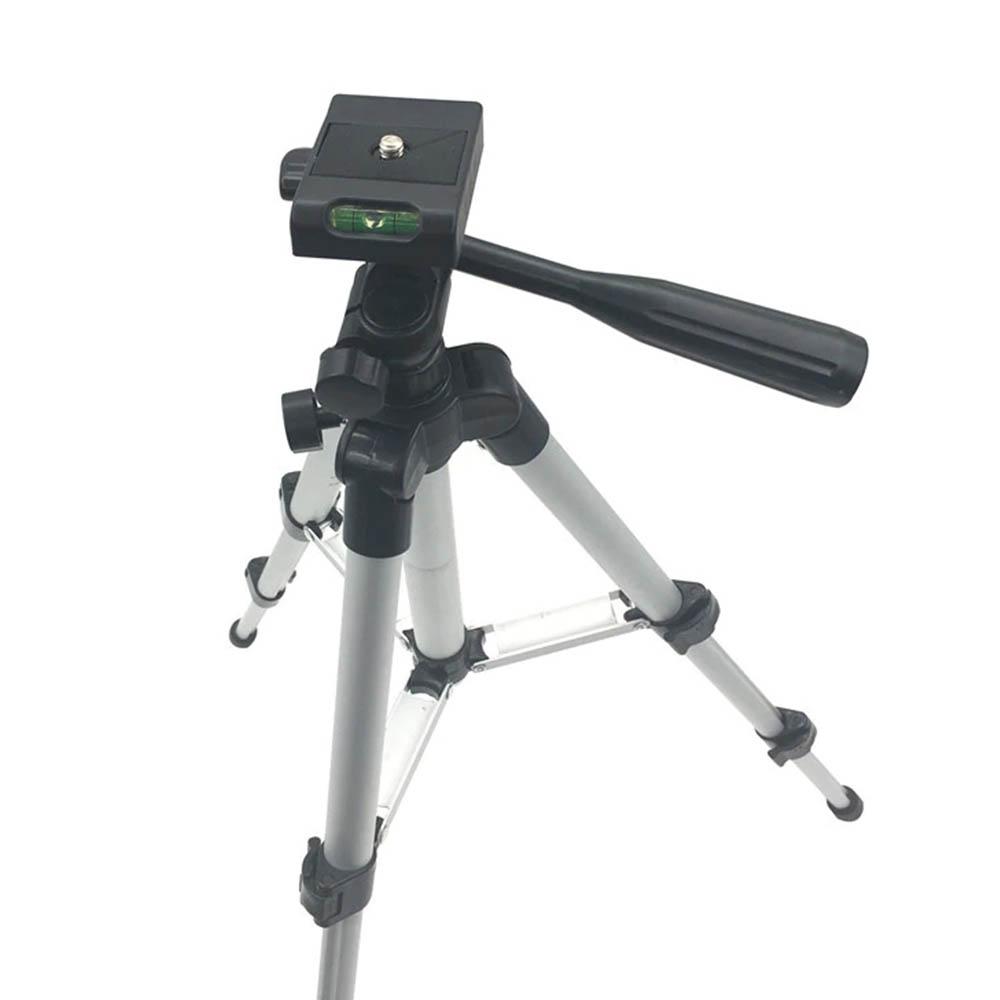 Tripé Universal Telescópico - Câmera Fotográfica e Celular - 150cm