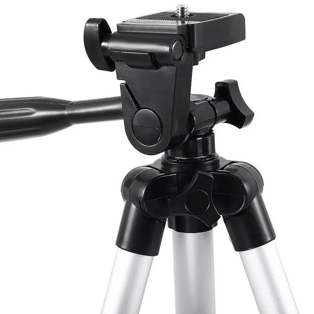 Tripé Universal Telescópico - Câmera Fotográfica e Celular - 65cm