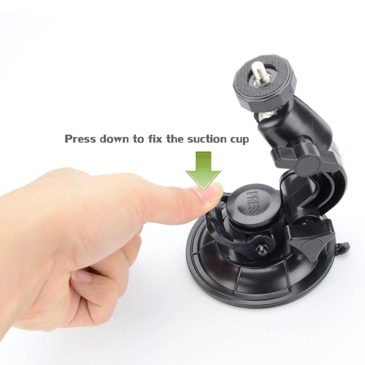 Ventosa de Sucção Para GoPro e Câmeras Similares - Diâmetro de 9cm
