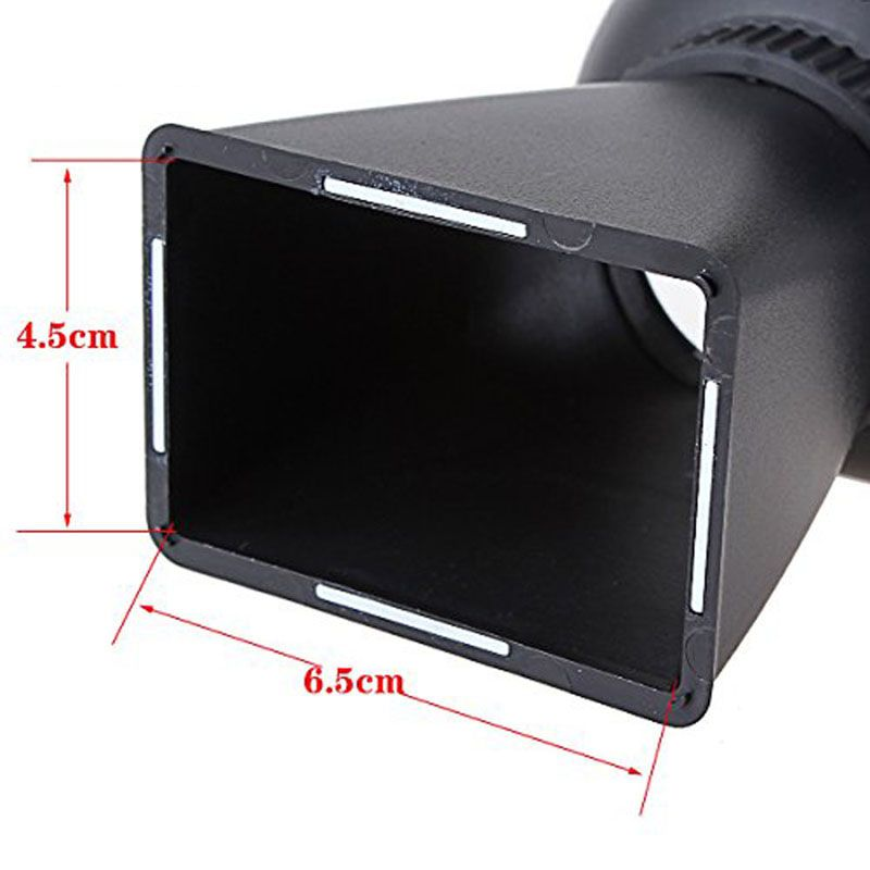 Visor LCD Viewfinder Câmera V1 - Canon 5DII 7D 500D - Nikon D700 D800