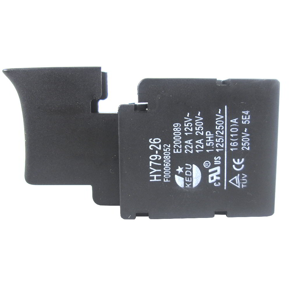 Interruptor preto para serra Circular Bosch GKS 7 - Bosch - Skil - Dremel - F000608052000