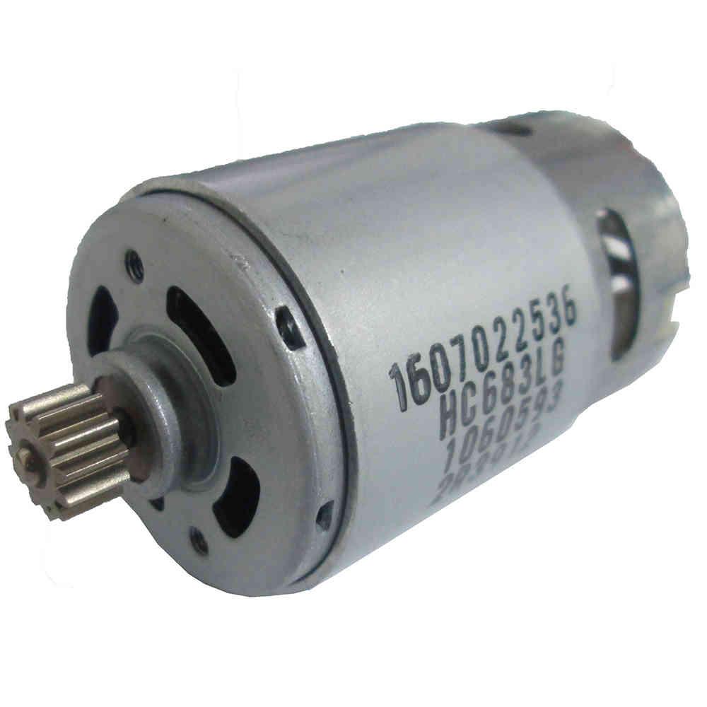Motor 12V com Pinhão para Parafusadeira GSR 12-2 - Bosch - Skil - Dremel - 2609120259