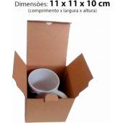 Caixa Papelão 11x11x10 cm para Caneca Cerâmica 360 ml