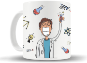 Caneca I love Science - Masculino