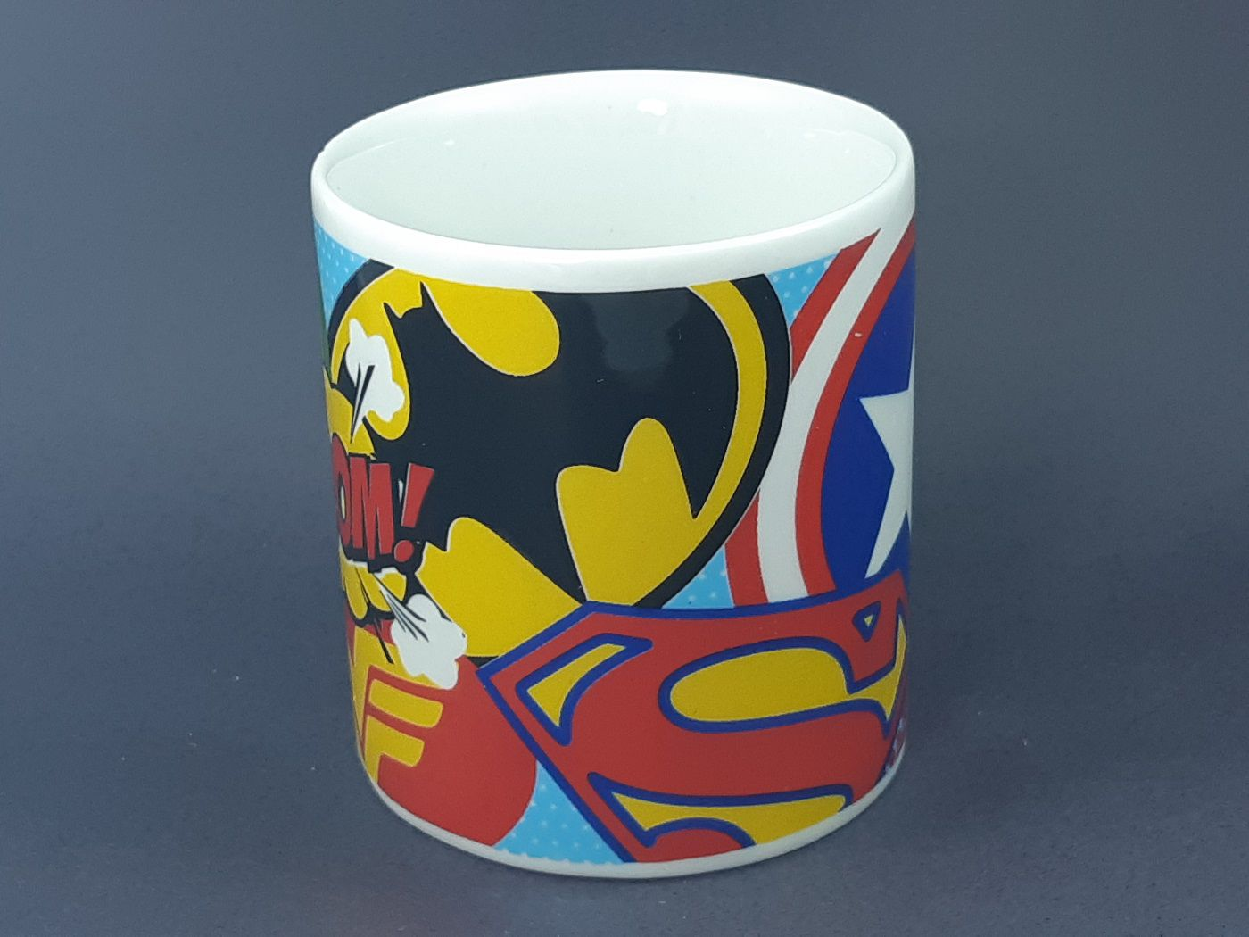 Caneca Heroes Team  325 ml