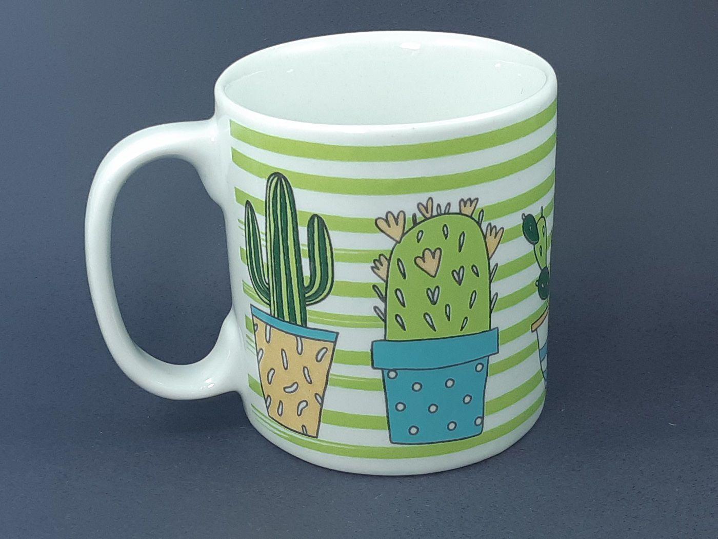 Caneca I Love Cactus  325 ml