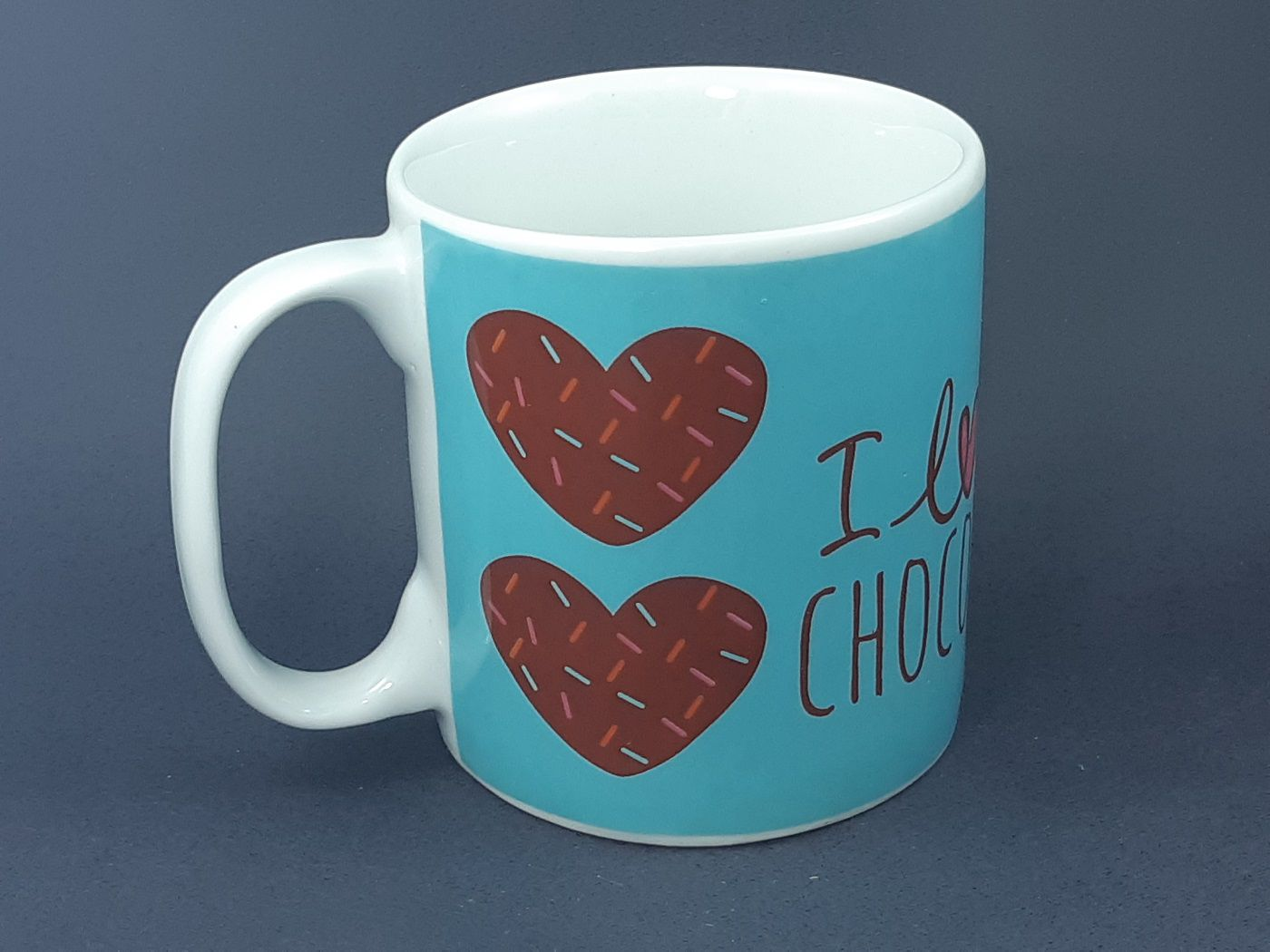 Caneca I love Chocolate  325 ml