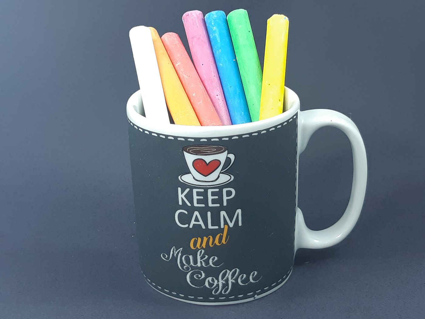 Caneca Keep Calm and Make Coffee  325 ml