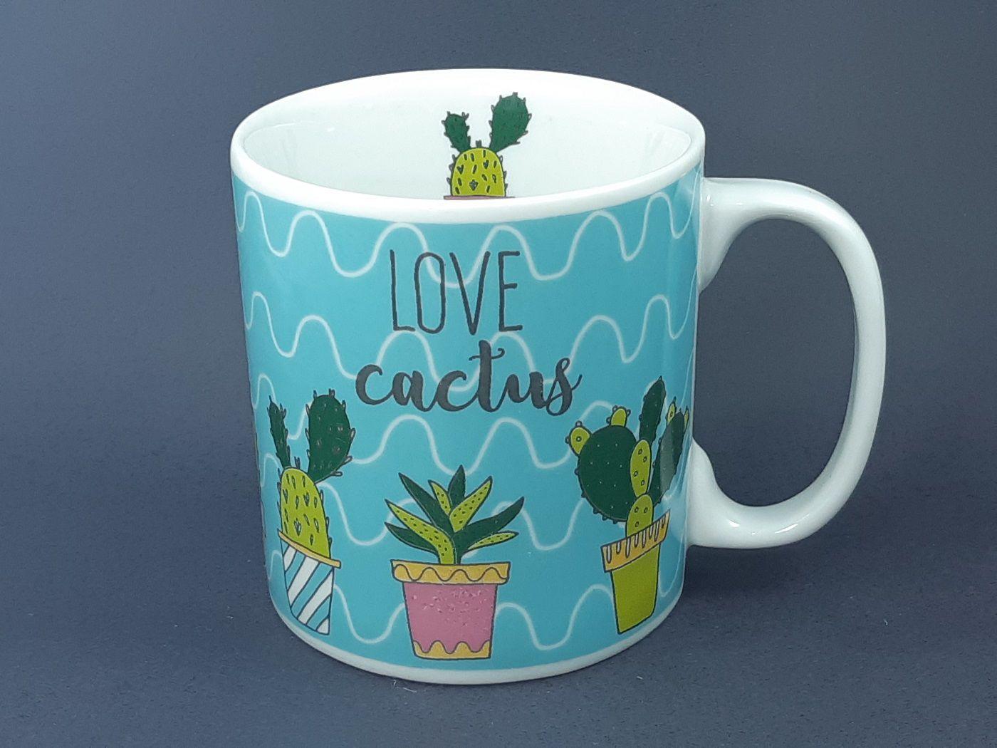 Caneca Love Cactus  325 ml
