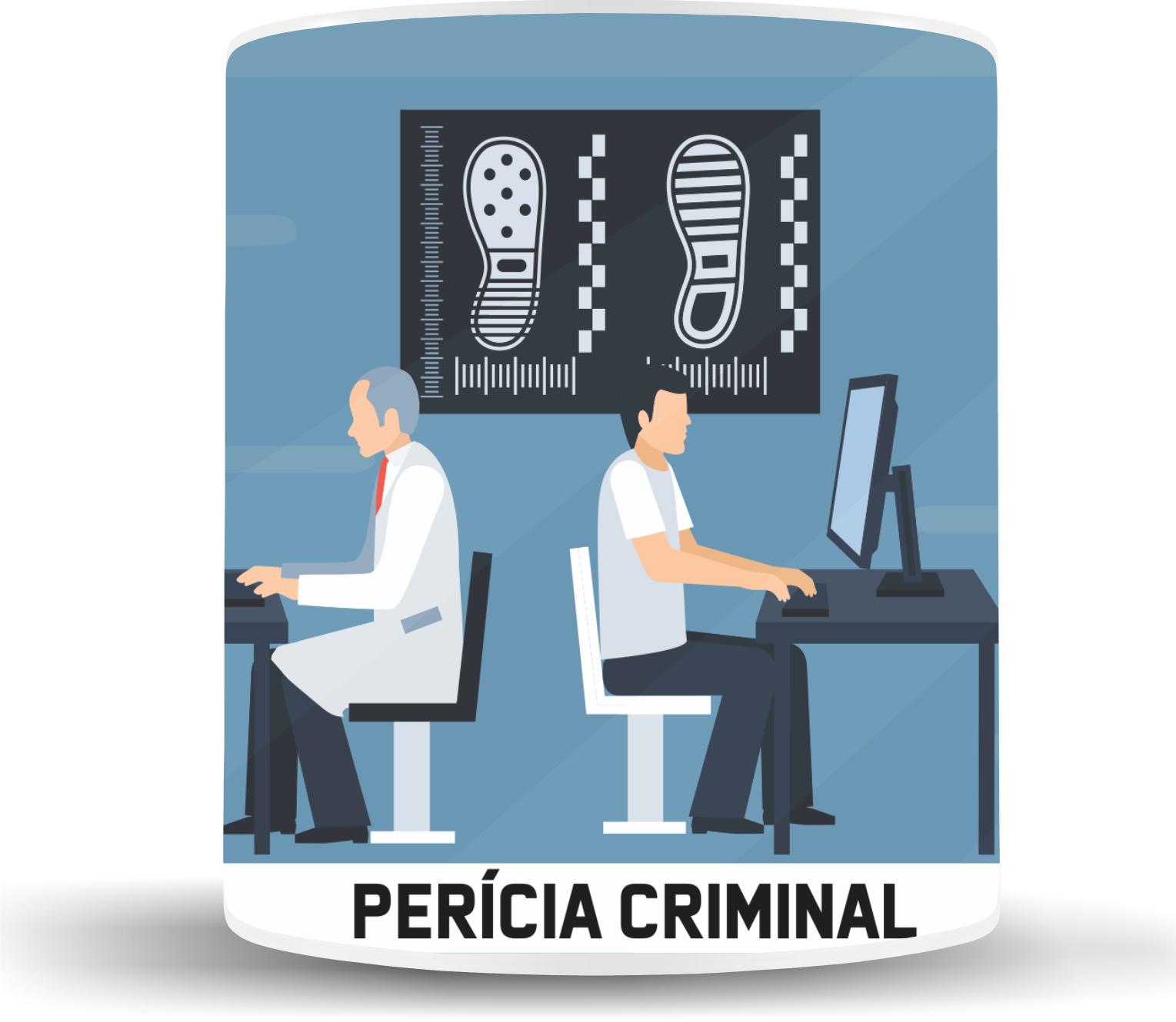 Caneca Perícia Criminal
