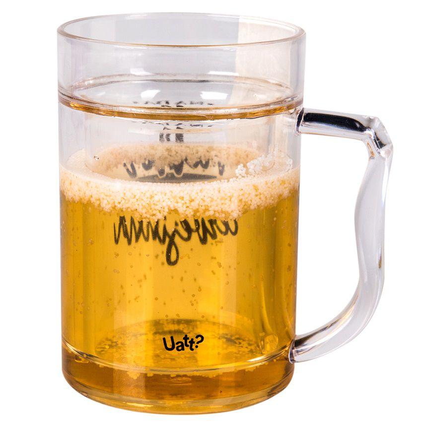 Caneco Térmico Mini Chopp - Cervejinha 250 ml