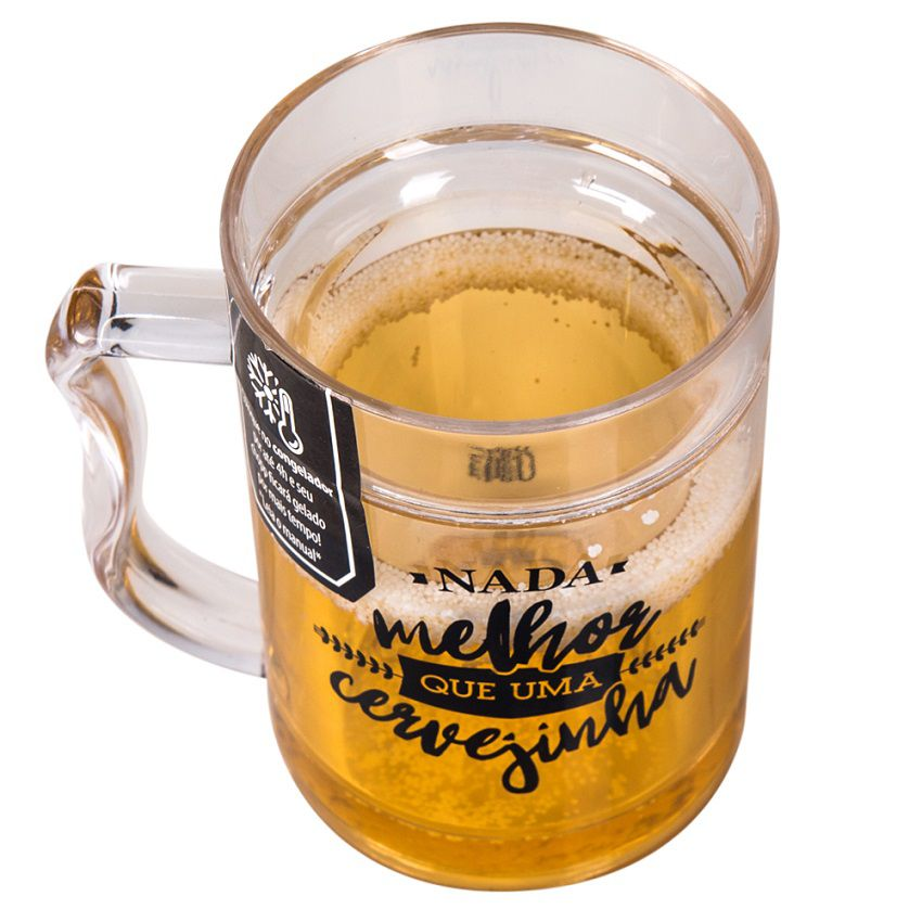 Caneco Térmico Mini Chopp - Cervejinha 250 ml