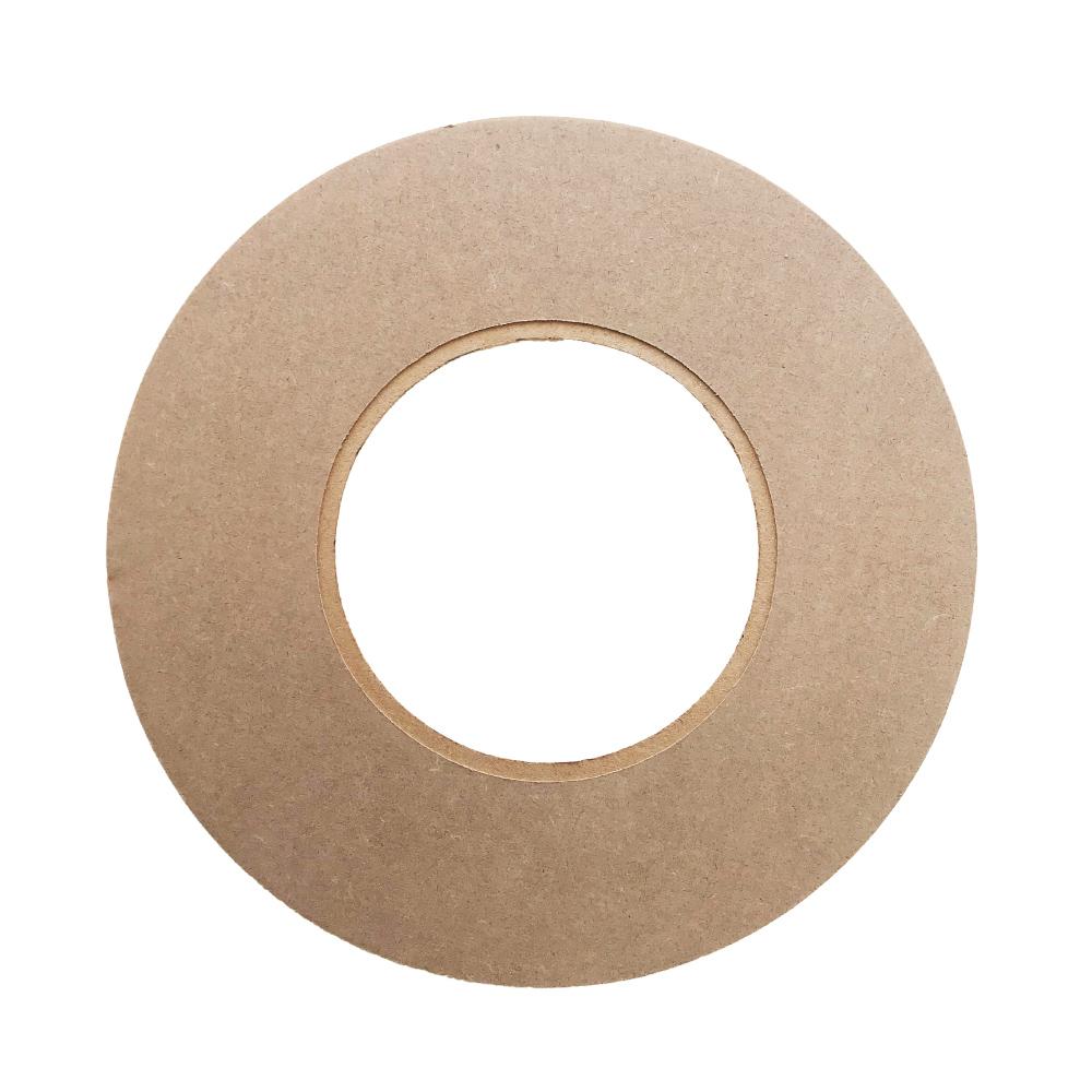 Kit 2 peças Mandala para Espelho Mdf Cru 53cm de Diâmetro para Pintar