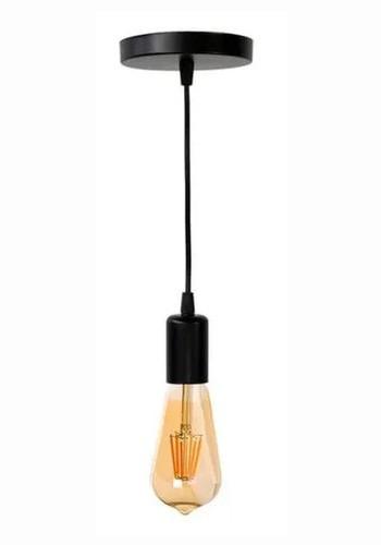 Pendente Soquete Retrô Vintage + Lâmpada Filamento Led