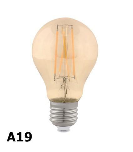 Plafon Aranha 8 Braços Preto C/lâmpadas Filamento Led