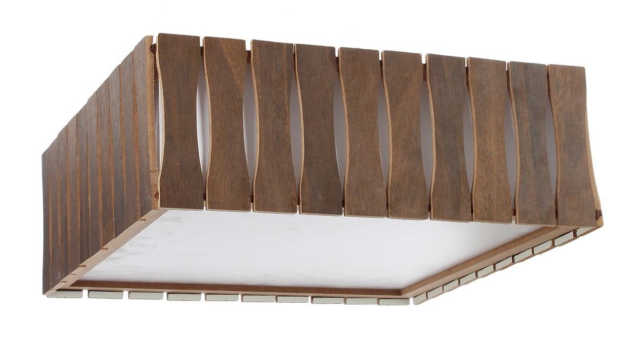 Plafon Madeira Ripado Quadrado 30x30cm