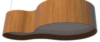 Plafon Oval 85X45cm - 5 luzes