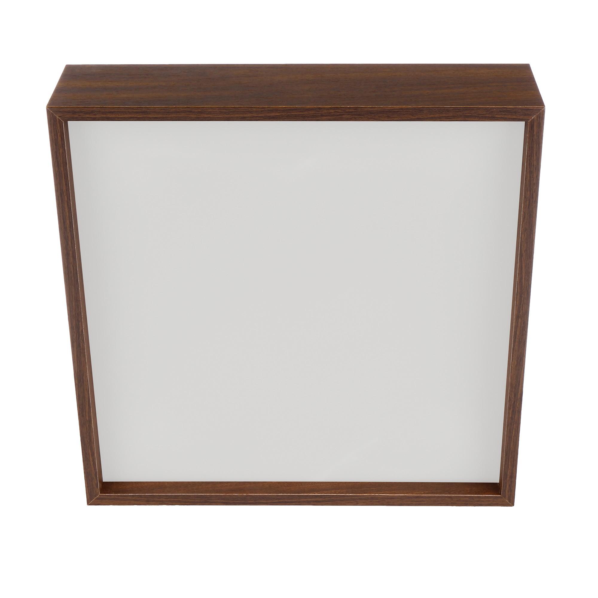 Plafon Quadrado Madeira 50x50cm