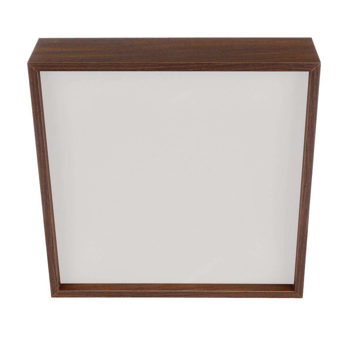 Plafon Quadrado Madeira 60x60cm