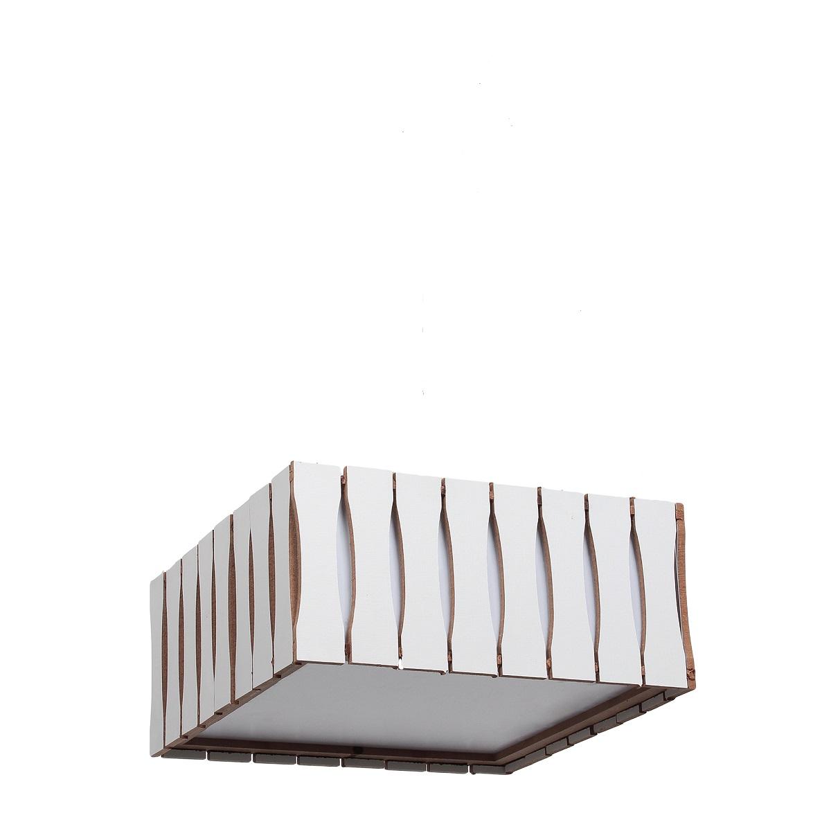 Plafon Madeira Ripado Quadrado 50x50cm