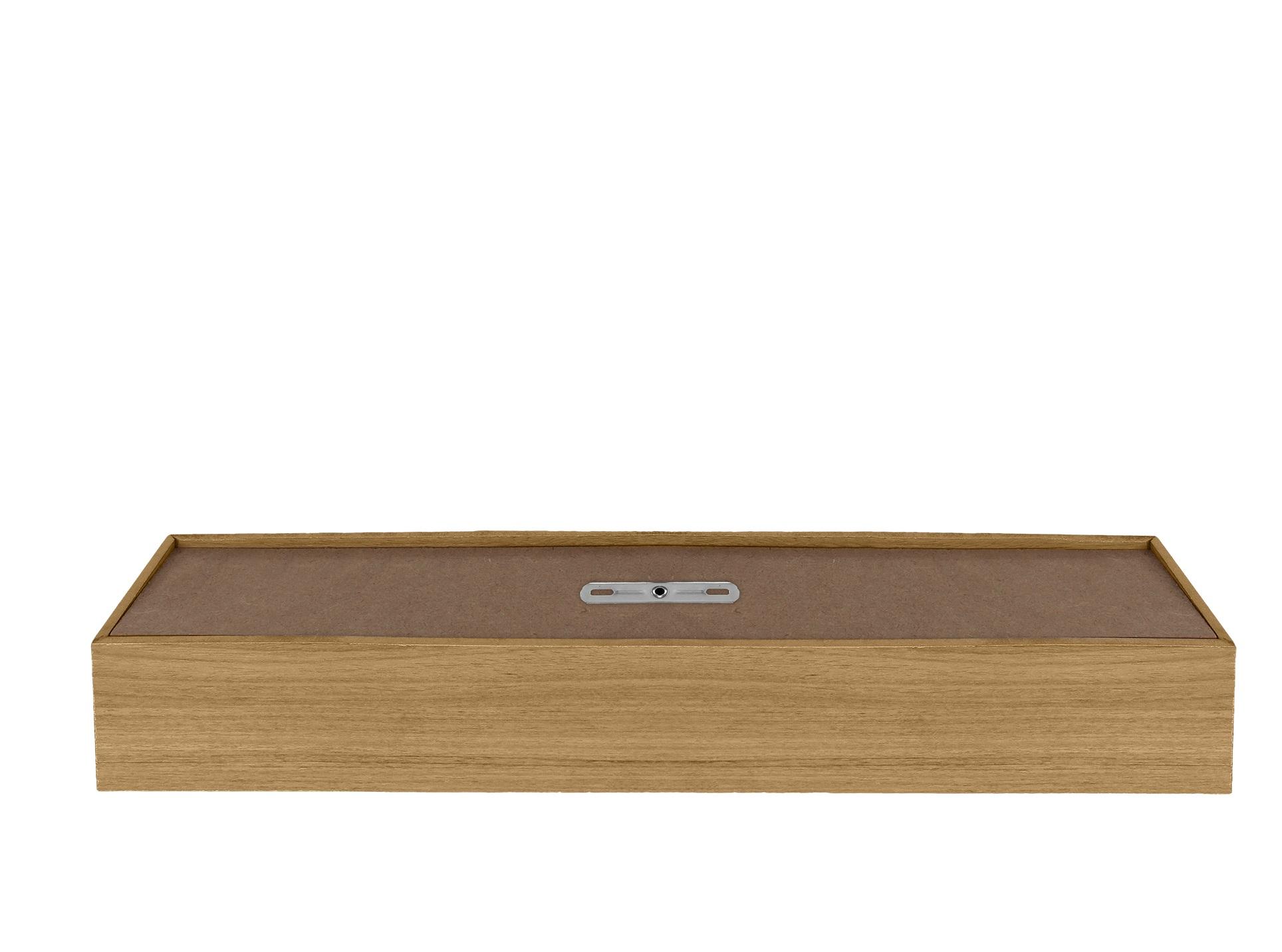 Plafon Wood Retângular 120x10cm - 01 luz G12