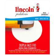 Boina de Lã Lincoln Dupla Face Branca (Rosca) Disco Semi Rígido (Fase de Corte) 7