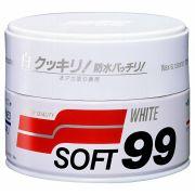 Cera Carnaúba para Carros Brancos - White Wax Cleaner (350g) Soft 99