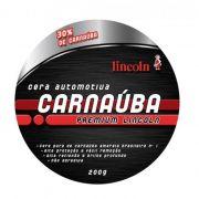 Cera Carnauba Premium Lincoln 200gr