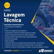 Curso de Lavagem Tecnica