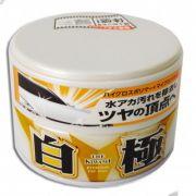Extreme Gloss Wax White  Past (200g) Cera Sintética para Carros de cor claras