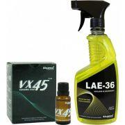 Kit Vitrificador Vx-45 Alcance 20ml E Lae-36 Nova Embalagem